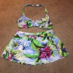 Hawaii Themed 2 Piece Bikini Bundle